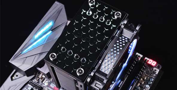 平行光效点亮质感,JONSBO CR-201散热器开箱评测