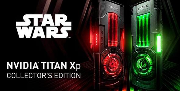 英伟达发布TITAN Xp星战典藏版!