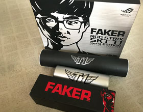 华硕ROG Strix SKT T1特别版开箱