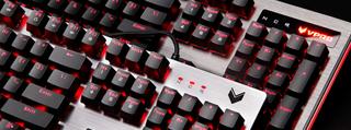 水下打字了解一下!雷柏V720L/V530L防水机械键盘开箱