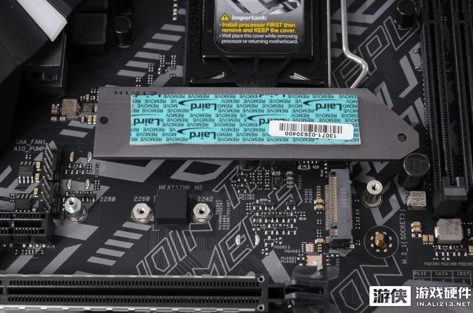 用料依然豪华!华硕ROG STRIX B360-F GAMING主板开箱