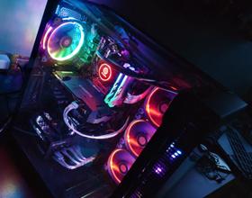 TT蛟龙Sync RGB 360一体式CPU水冷散热器开箱