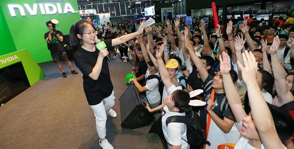 CJ2018:iGame时刻点燃ChinaJoy NVIDIA Discovery全场