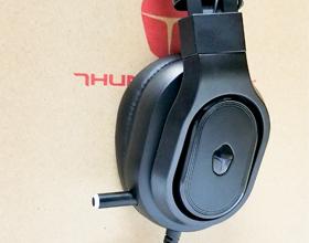 雷神沙漠之盾H51专业电竞耳机开箱体验