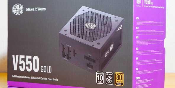 酷冷至尊 V550 80PLUS金牌全模组电源开箱