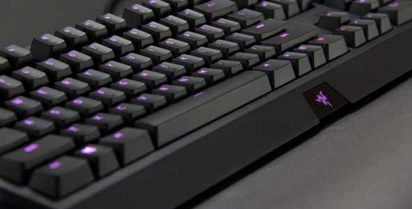 灯光系统大升级!19款雷蛇黑寡妇蜘蛛机械键盘开箱