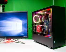用恩杰H500i机箱打造2080光追发烧级RGB游戏PC