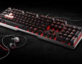 微星VIGOR GK60机械键盘评测