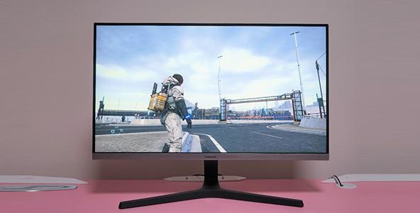 三星UR55显示器初入手体验:让你的游戏更添色彩