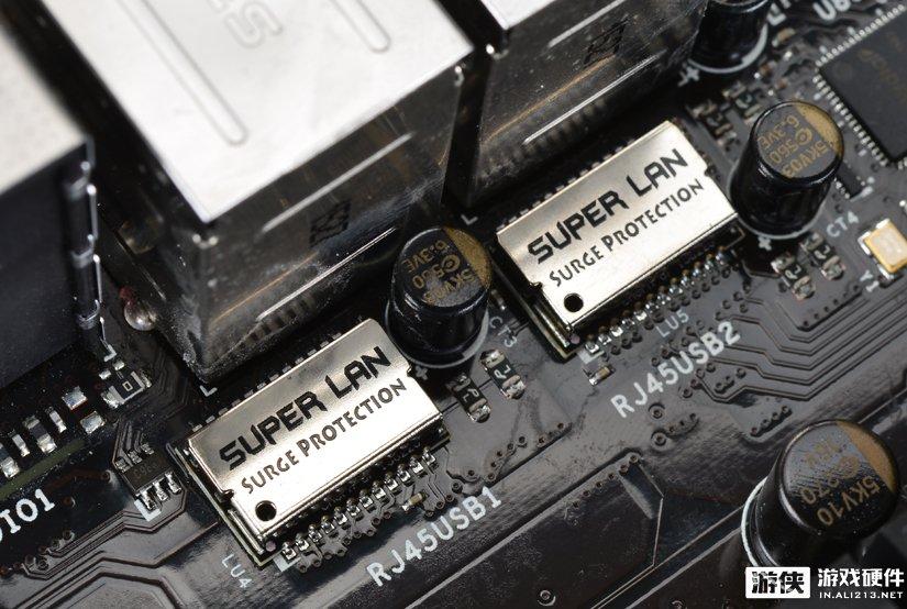 Super LAN防雷击网络保护模块