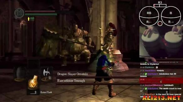 手殘黨掩面!玩家用手鼓擊敗黑暗靈魂 的最難Boss