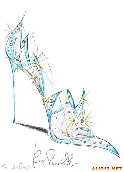 灰姑娘水晶鞋实体化 就差辆南瓜车我就可以去见王子啦