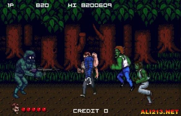 《美国末日》变身90年代街机游戏
