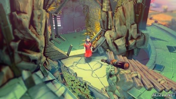 故事发生在一座古塔之中,一个女孩被囚禁于此.女孩叫Moonchild,图片