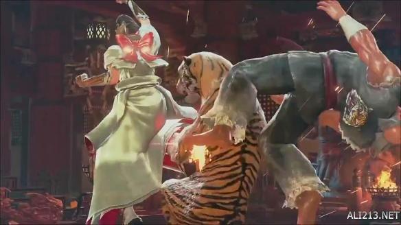 《铁拳7(tekken 7)》美女三岛一美演示公布