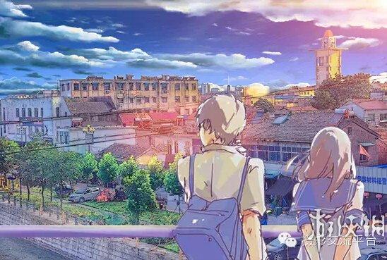 宫崎骏的动漫场景