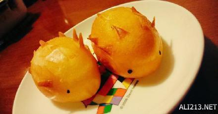 日本女馒头比图_要长得可爱才会吃!日本老字号特色小刺猬馒头萌萌哒