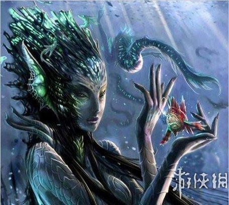 你七大中的名人?v七大《魔兽世界》史上女神简笔心目漫画肖像女王图片