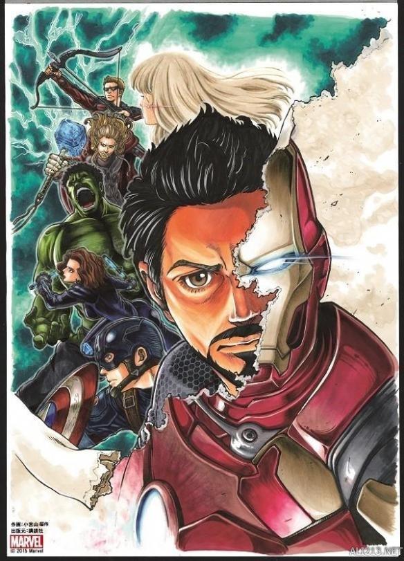 《复仇者少年》前传联盟v少年《周刊漫画Maga兽漫画叫黑图片