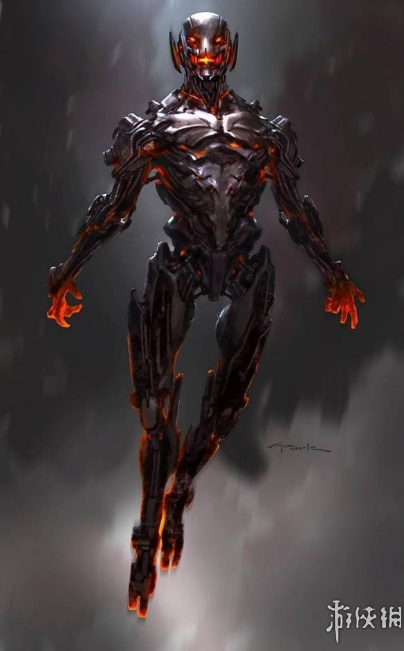 科幻感倍增,盔甲帅翻了!《复联2》奥创原始设计图