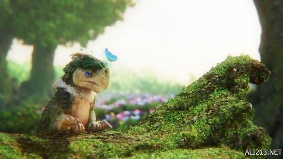 虚幻引擎4最新森林渲染视频:可爱小飞龙来抢镜!