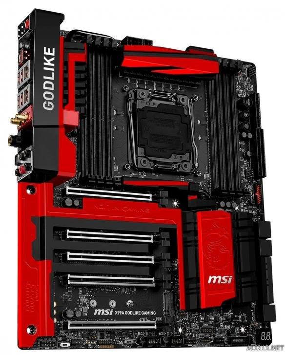 主板界灯厂!微星正式发布x99a godlike gaming主板