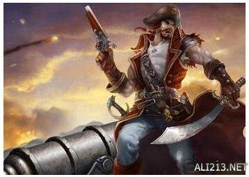 lol船长帅气头像