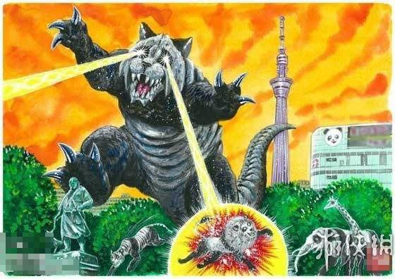 日本47个毁灭城市的吉祥物怪兽