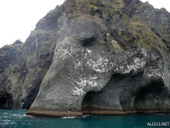 这些照片摄于冰岛的赫马岛