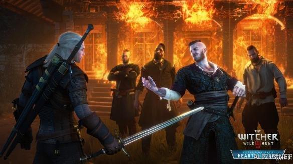 巫师3 狂猎 The Witcher 3: Wild Hunt 石之心 Hearts of Stone DLC 官方中文版 下载发布 游侠网