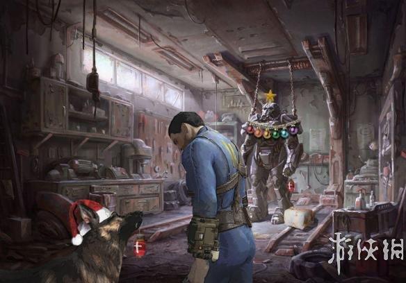 游戏角色遭ps恶搞过圣诞!寂静岭恐怖怪物获第一名