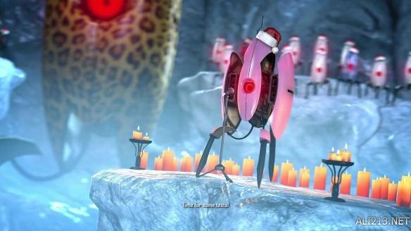 《传送门》小炮塔圣诞颂歌大合唱!电音效果感觉很洗脑