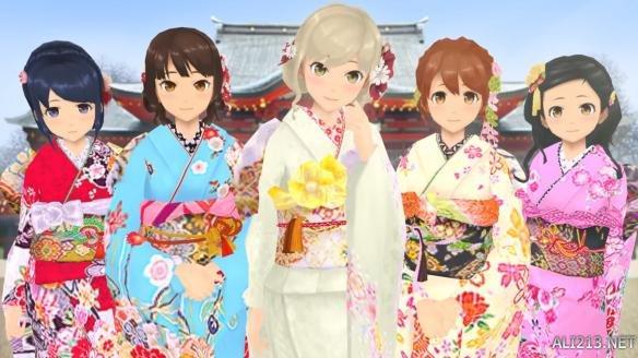 日本可爱女孩logo
