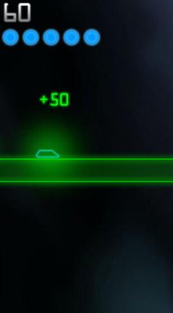 点击屏幕可以控制矢量小车跳跃
