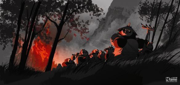 《功夫熊猫3》概念设计图大赏