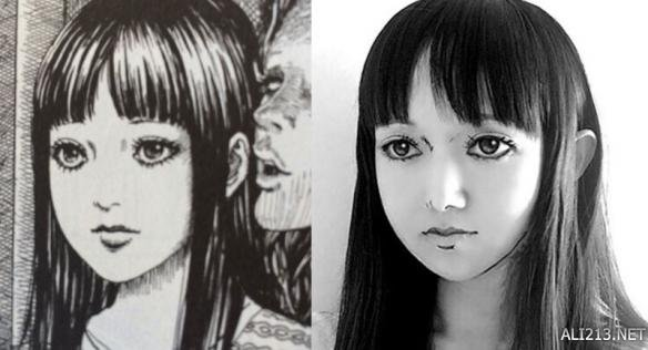 日本美少女晒二次元恐怖妆 男票要被吓哭!