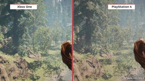 《孤岛惊魂:原始杀戮》主机画面对比!这回不相上下