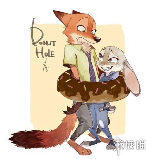 《疯狂动物城》太红:全世界同人画师都在画兔子狐狸
