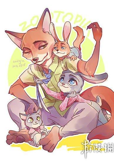 【《疯狂动物城》太红:全世界同人画师都在画兔子