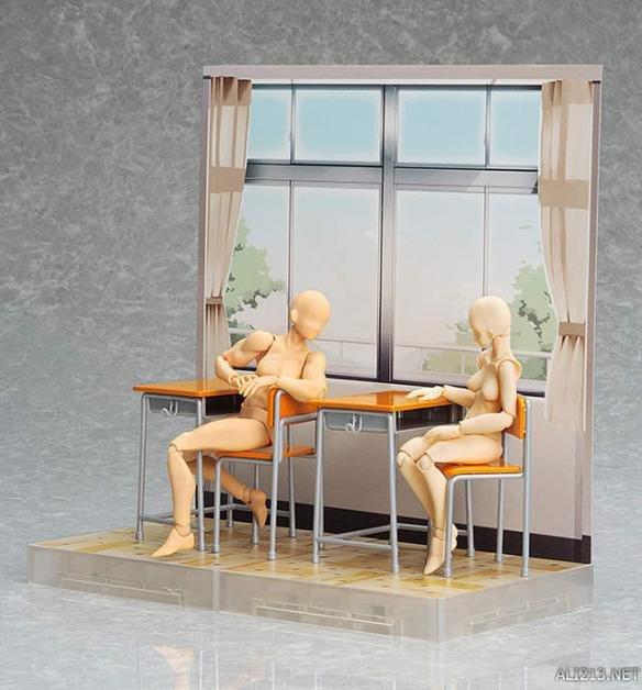 粘土社,figma推出与角色身高对应的背景展示道具系列