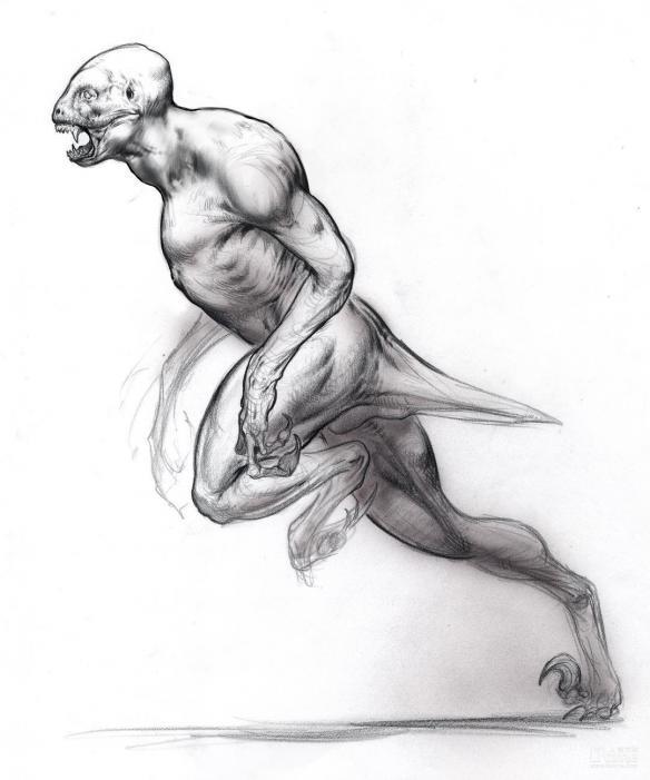 牛龙素描简笔画