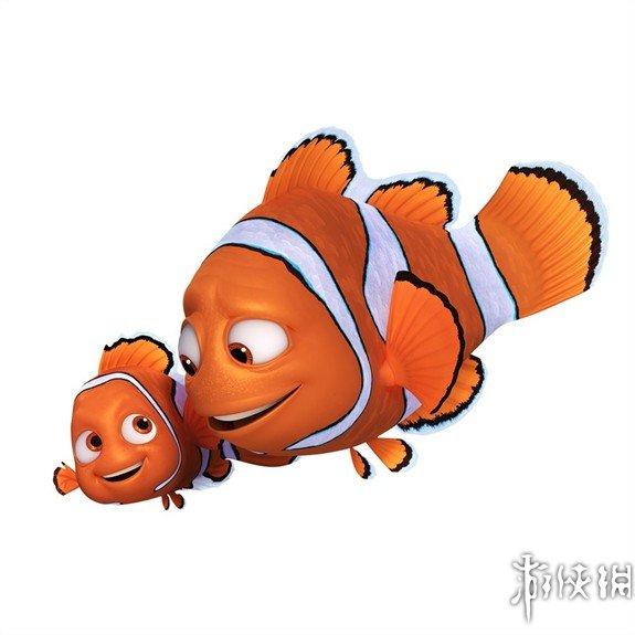 小鱼一家卡通图片
