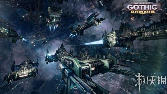 《哥特舰队:阿玛达》太空陆战队v舰队视频发布视频辛集图片