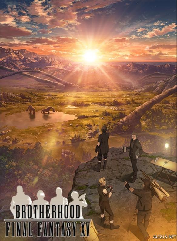 """《最终幻想15》官方动画《兄弟情》第二集""""不屈的跑者""""中文字幕"""
