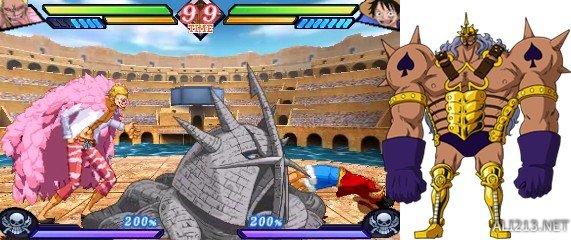 【游侠导读】海贼王新作《海贼王:大海贼斗技场(One Piece: Great Pirate Colosseum)》今天发布了新一批的游戏截图,展示了路飞的战斗画面、游戏的连击combo系统以及游戏的剧情模式。游戏试玩demo将于7月27日发布。