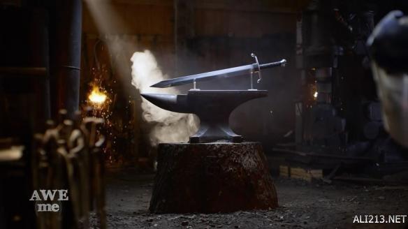 武器人间锻造《七龙珠》特兰克斯勇者之剑 寒气逼人