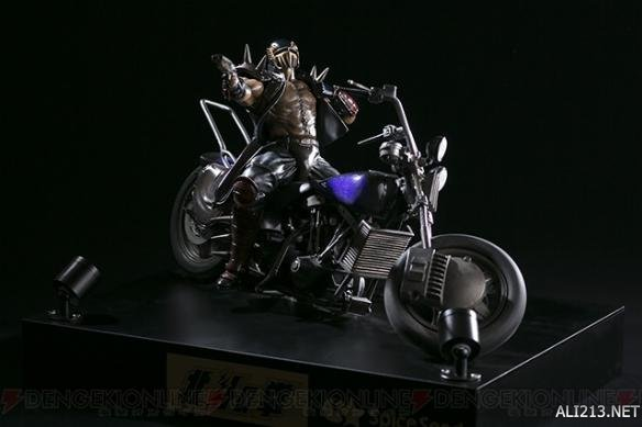 和善的眼神!《北斗神拳》贾基摩托车版手办发售!