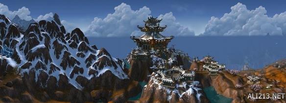 这才是史诗级风景大片 《魔兽世界》全特效超清全景图