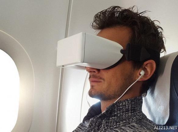 据悉这款skylightsvr设备将配备40部高清电影以及为乘客提供一个坐