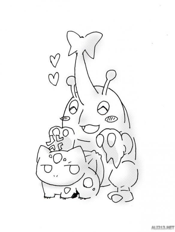 再也无法直视的口袋妖怪(2) 赫拉剋罗斯与妙蛙种子的基情